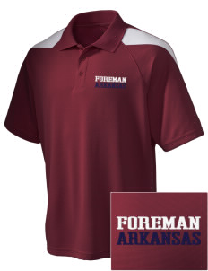 Foreman Embroidered Holloway Men's Frequency Performance Pique Polo