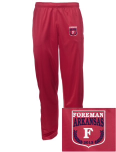 Foreman Embroidered Men's Tricot Track Pants
