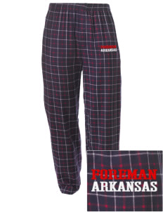 Foreman Embroidered Men's Button-Fly Collegiate Flannel Pant