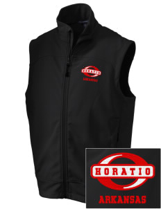 Horatio Embroidered Men's Glacier Soft Shell Vest