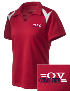 Ocean View Embroidered Holloway Women's Laser Polo
