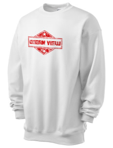Ocean View Men's 7.8 oz Lightweight Crewneck Sweatshirt