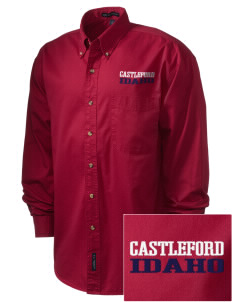 Castleford Embroidered Men's Twill Shirt