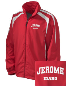 Jerome Embroidered Men's Colorblock Raglan Jacket