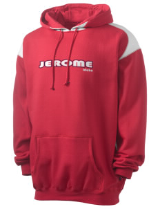Jerome Men's Pullover Hooded Sweatshirt with Contrast Color