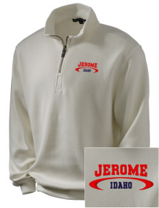 Jerome Embroidered Men's 1/4-Zip Sweatshirt
