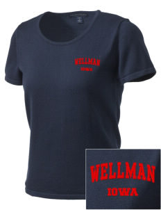 Wellman Embroidered Women's Fine-Gauge Scoop Neck Sweater