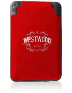 Westwood Kindle Keyboard 3G Skin