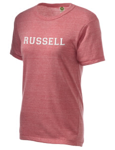 Russell Embroidered Alternative Unisex Eco Heather T-Shirt