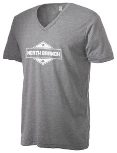 North Branch Alternative Men's 3.7 oz Basic V-Neck T-Shirt