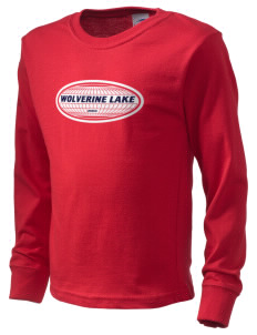 Wolverine Lake  Kid's Long Sleeve T-Shirt