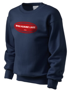 Wolverine Lake Kid's Crewneck Sweatshirt