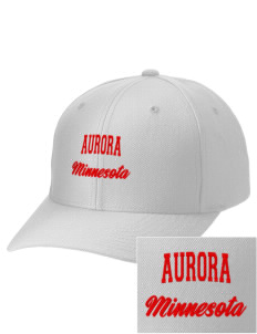 Aurora Embroidered Wool Adjustable Cap