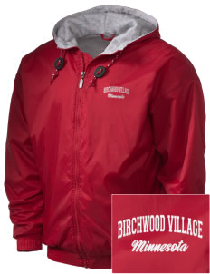 Birchwood Village Embroidered Holloway Men's Hooded Jacket