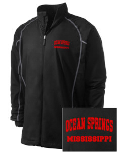 Ocean Springs Embroidered Men's Nike Golf Full Zip Wind Jacket