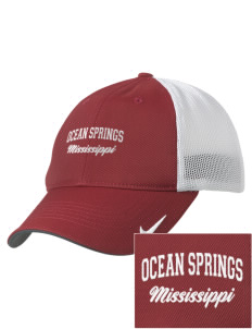 Ocean Springs Embroidered Nike Golf Mesh Back Cap