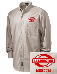 Leadington Embroidered Tall Men's Twill Shirt