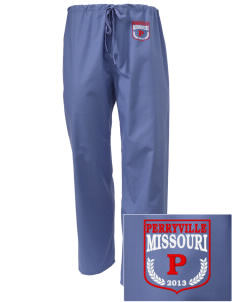 Perryville Embroidered Scrub Pants