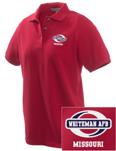 Whiteman AFB Embroidered Women's Pique Polo