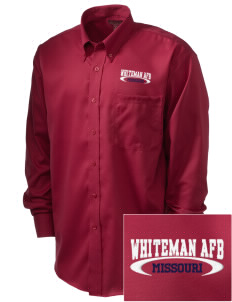 Whiteman AFB  Embroidered Men's Nailhead Non-Iron Button-Down