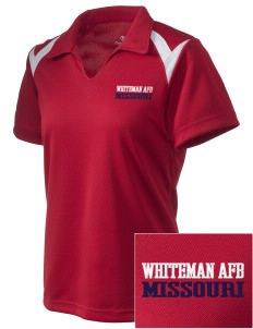 Whiteman AFB Embroidered Holloway Women's Laser Polo