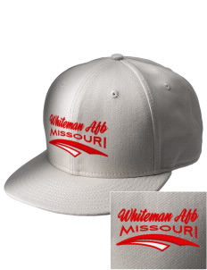Whiteman AFB  Embroidered New Era Flat Bill Snapback Cap