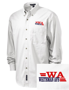Whiteman AFB Embroidered Men's Twill Shirt