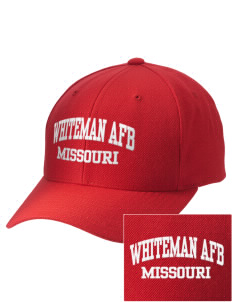 Whiteman AFB Embroidered Wool Adjustable Cap
