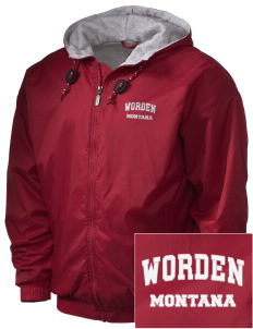 Worden Embroidered Holloway Men's Hooded Jacket