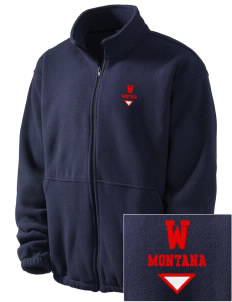 Worden Embroidered Men's Fleece Jacket