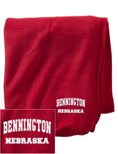 Bennington Embroidered Holloway Stadium Fleece Blanket