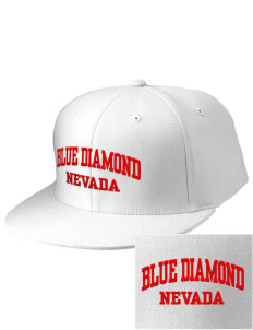 Blue Diamond Embroidered Diamond Series Fitted Cap