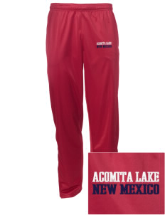 Acomita Lake Embroidered Men's Tricot Track Pants