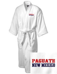 Paguate Embroidered Terry Velour Robe