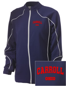 Carroll Embroidered Russell Women's Full Zip Jacket