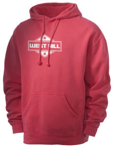West Hill Men's 80/20 Pigment Dyed Hooded Sweatshirt