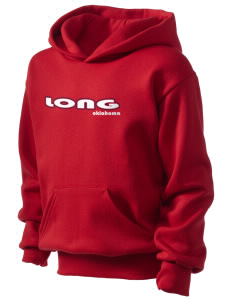 Long Kid's Hooded Sweatshirt