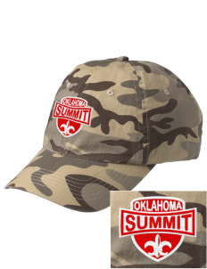 Summit Embroidered Camouflage Cotton Cap