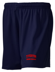 "Tiverton Embroidered Holloway Women's Performance Shorts, 5"" Inseam"