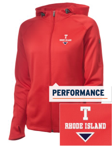 Tiverton Embroidered Women's Tech Fleece Full-Zip Hooded Jacket
