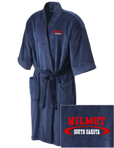 Wilmot Embroidered Terry Velour Robe
