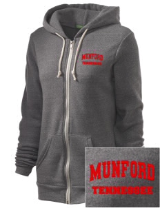 Munford Embroidered Alternative Unisex The Rocky Eco-Fleece Hooded Sweatshirt