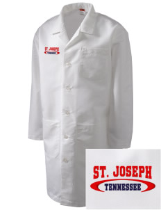St. Joseph Full-Length Lab Coat