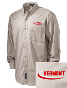 West Haven Embroidered Tall Men's Twill Shirt
