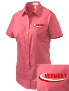 West Haven Embroidered Women's Easy Care Short Sleeve Shirt