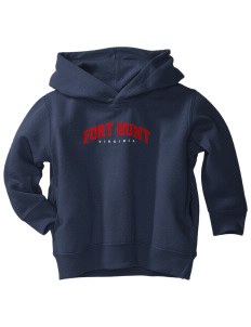Fort Hunt  Toddler Fleece Hooded Sweatshirt with Pockets