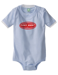 Fort Hunt Baby One-Piece with Shoulder Snaps