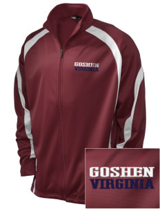 Goshen Embroidered Holloway Men's Tricotex Warm Up Jacket