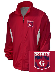 Goshen Embroidered Holloway Men's Full-Zip Jacket