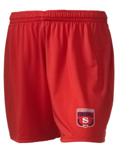 "Stanleytown Embroidered Holloway Women's Performance Shorts, 5"" Inseam"